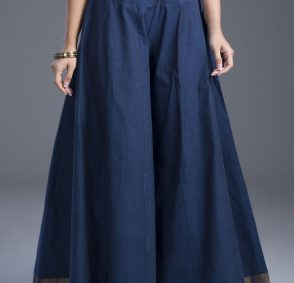 Divided Skirt With Flair